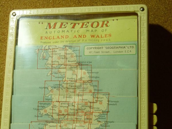 Meteor Automatic Folding Map
