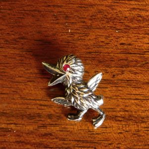 1950s Baby Bird Pin Brooch