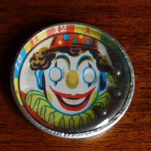 Tin Clown Face Dexterity Puzzle