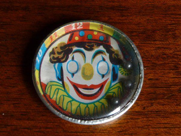 Tin Clown Face Dexterity Puzzle