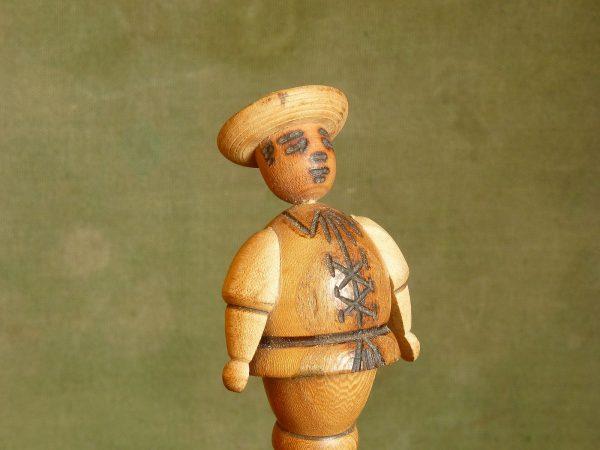 Wooden Man Bottle Stopper