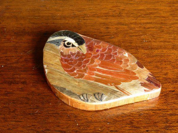Bird-shaped Veneered Box
