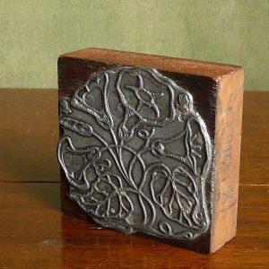 Convulvulus Style Printing Block