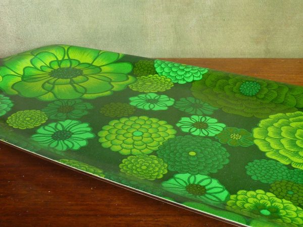 Thetford Green Flowers Large Tray