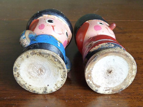 Charming Wooden Egg Cups