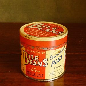 Bile Beans Advertising Tin
