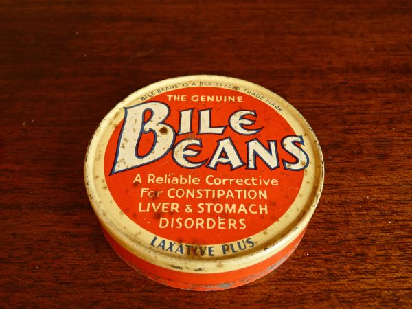Bile Beans Advertising Tin