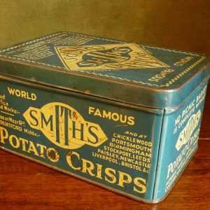 Smith's Potato Crisps Advertising Tin