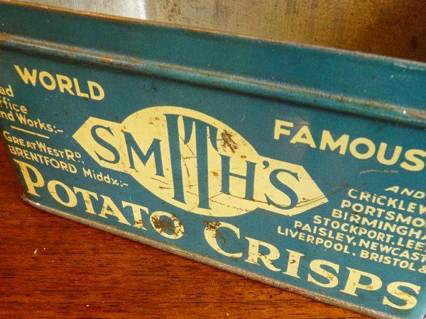 Smith's Potato Crisps Advertising Tin