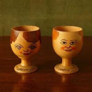 "Pair of vintage ""Norge"" Egg Cups"