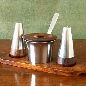 Danish Lundtofte Condiment Set