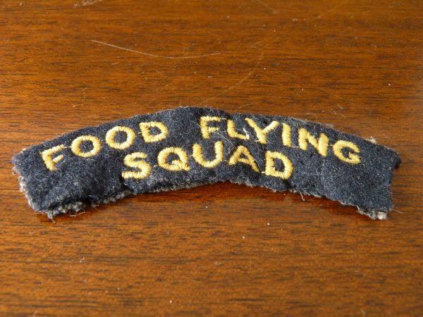 Food Flying Squad Shoulder Badge