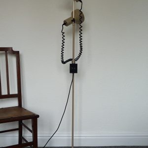 1970s Twin Spotlight Floor Lamp in Mushroom