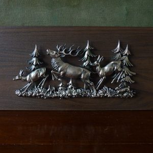 Stag and Deer Wall Plaque