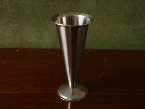Lundtofte Stainless Steel Flute Vase