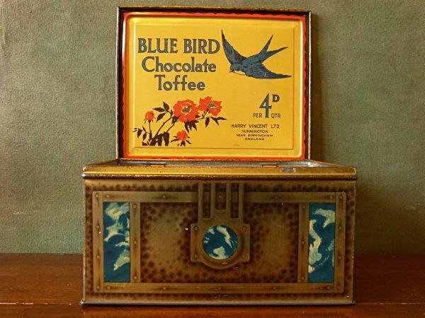 Bluebird Toffee Tin