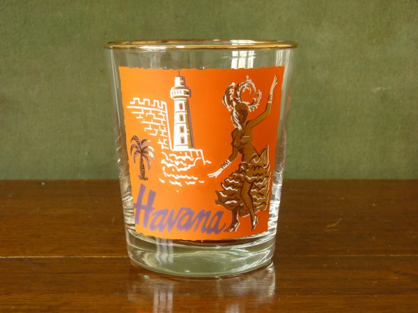 Libbey International Cities Tumbler - Havana