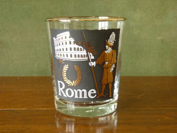 Libbey International Cities Tumbler - Rome