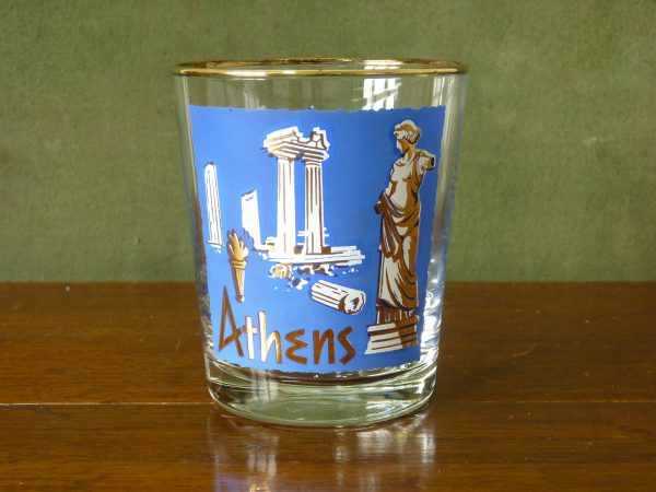 Libbey International Cities Tumbler - Athens