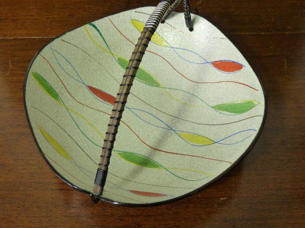 Vintage Napco Japanese Textured Bowl