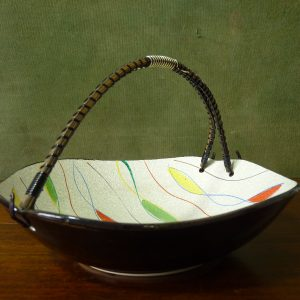 Vintage Napco Japanese Textured Bowl