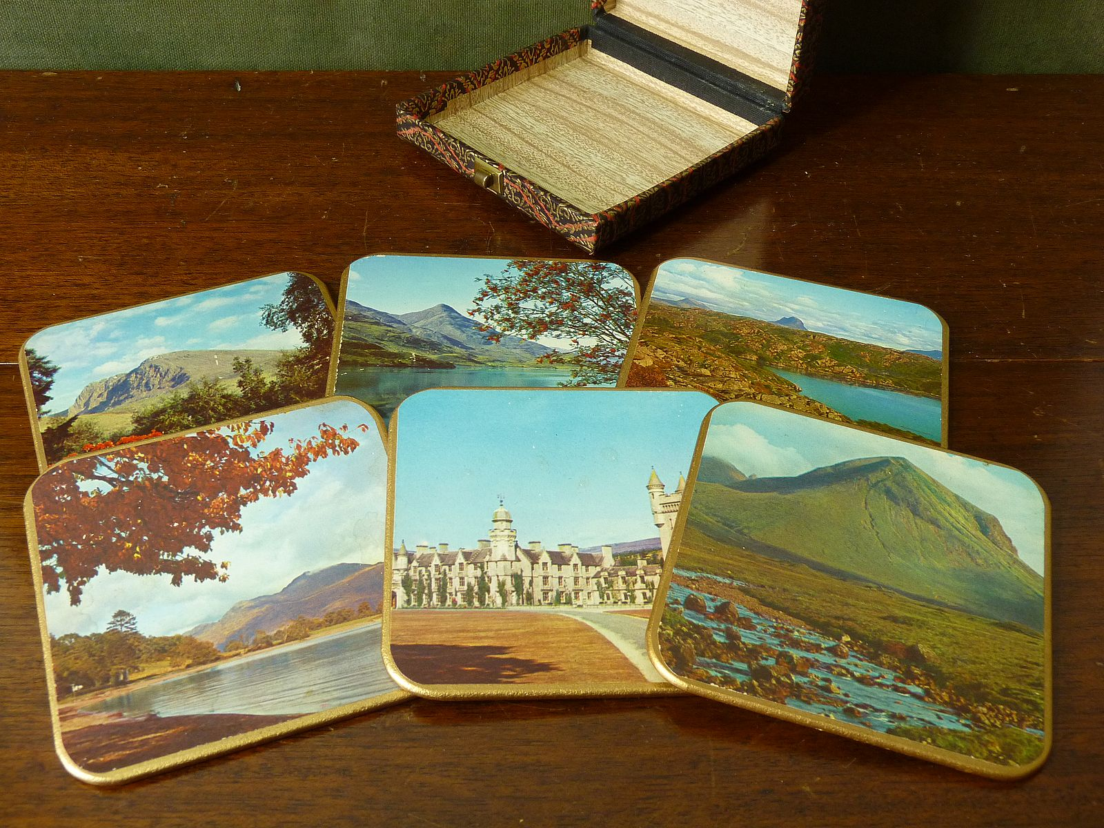 Win-el-ware Scottish Scenes Coasters
