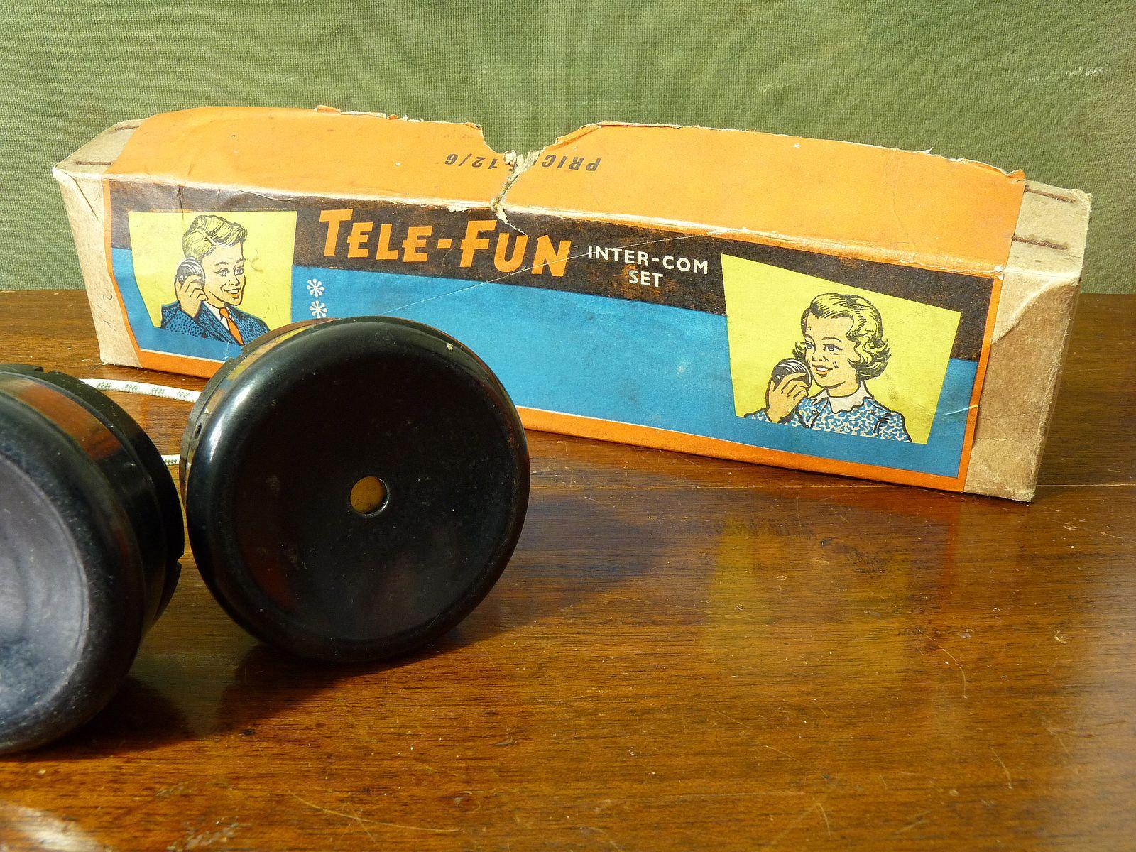 Vintage Tele-Fun Intercom Set