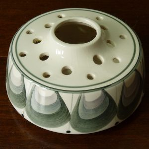 Jersey Pottery Flower Rose Pot Pourri Bowl