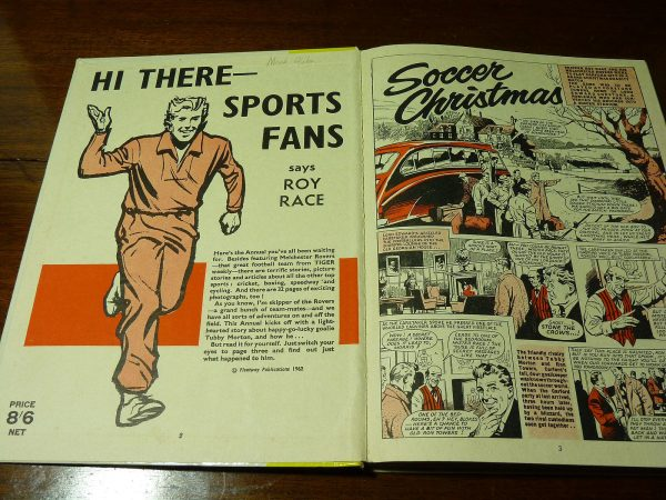 Roy of The Rovers All Sports Annual, 1963