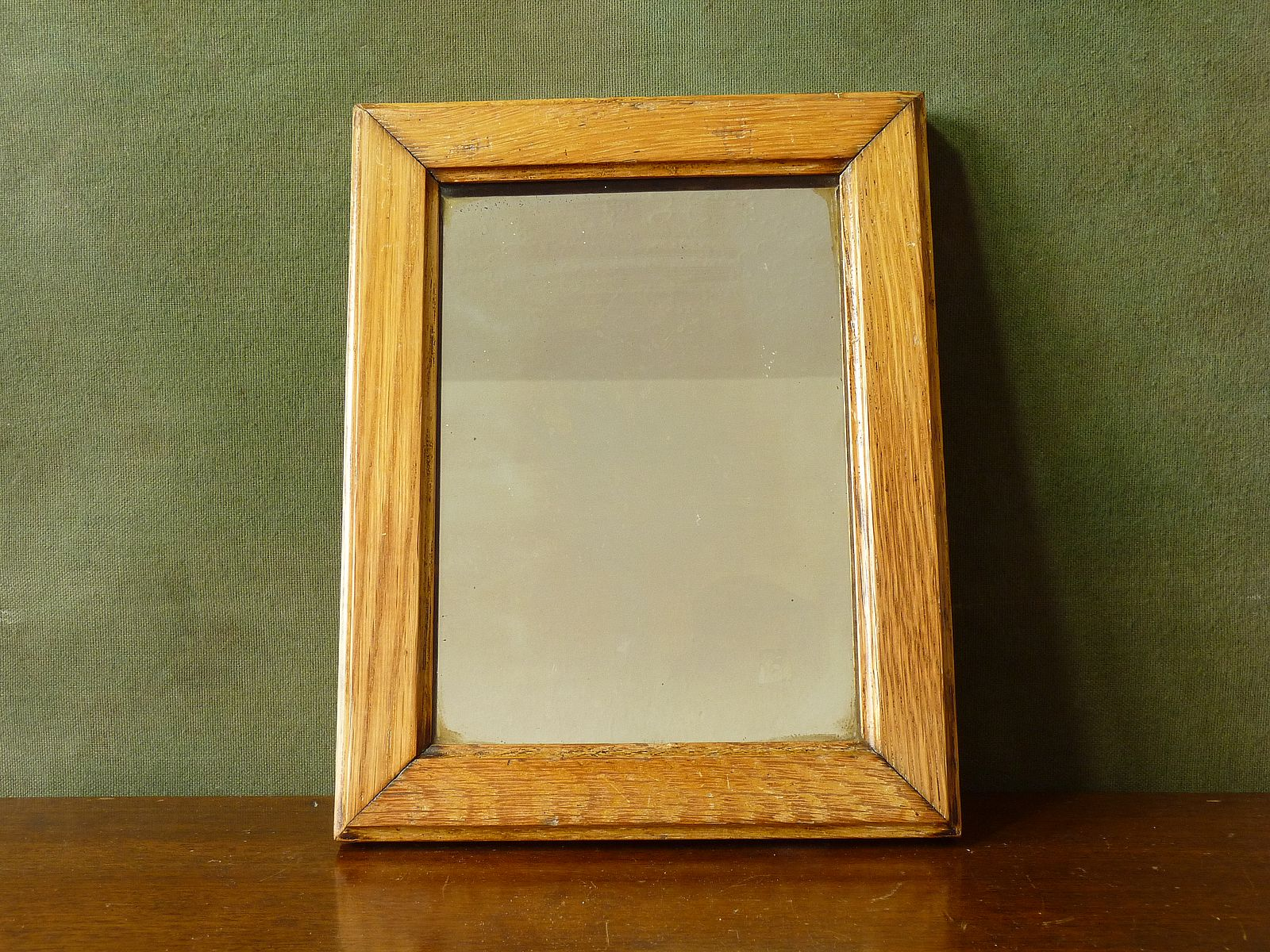 Charming Wood Framed Mirror