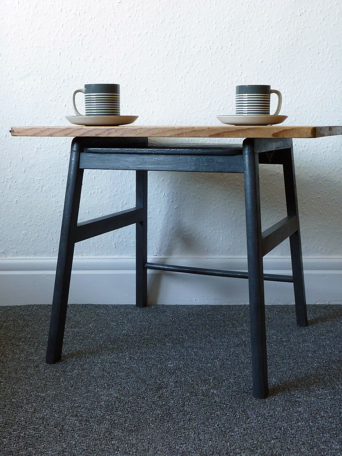 Coffee or Side Table made from Winsor & Newton Drawing Board