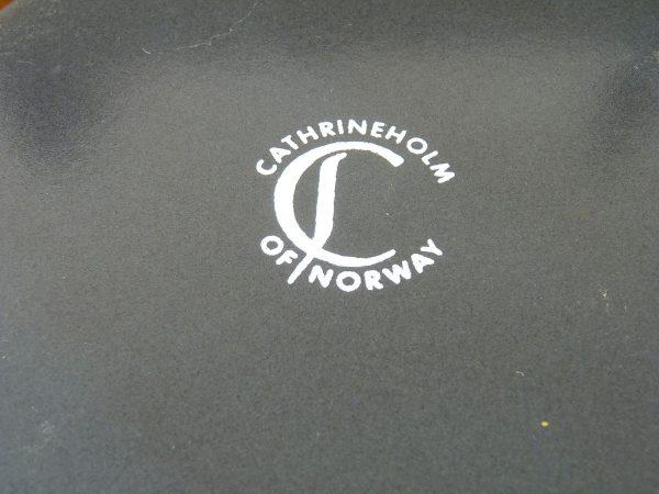 Cathrineholm Enamelware Saucepan Lotus Pattern Norway