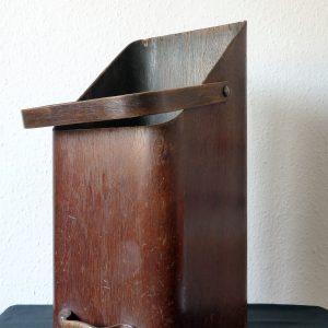 Mallod Mid Century Bent Plywood Coal Scuttle