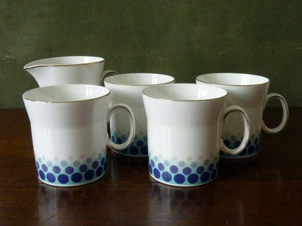 Blue Mink Design by John Russell for Hostess Tableware
