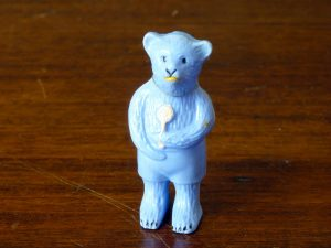 Rare 1950s Kleeware Bear Baby Rattle / Teether