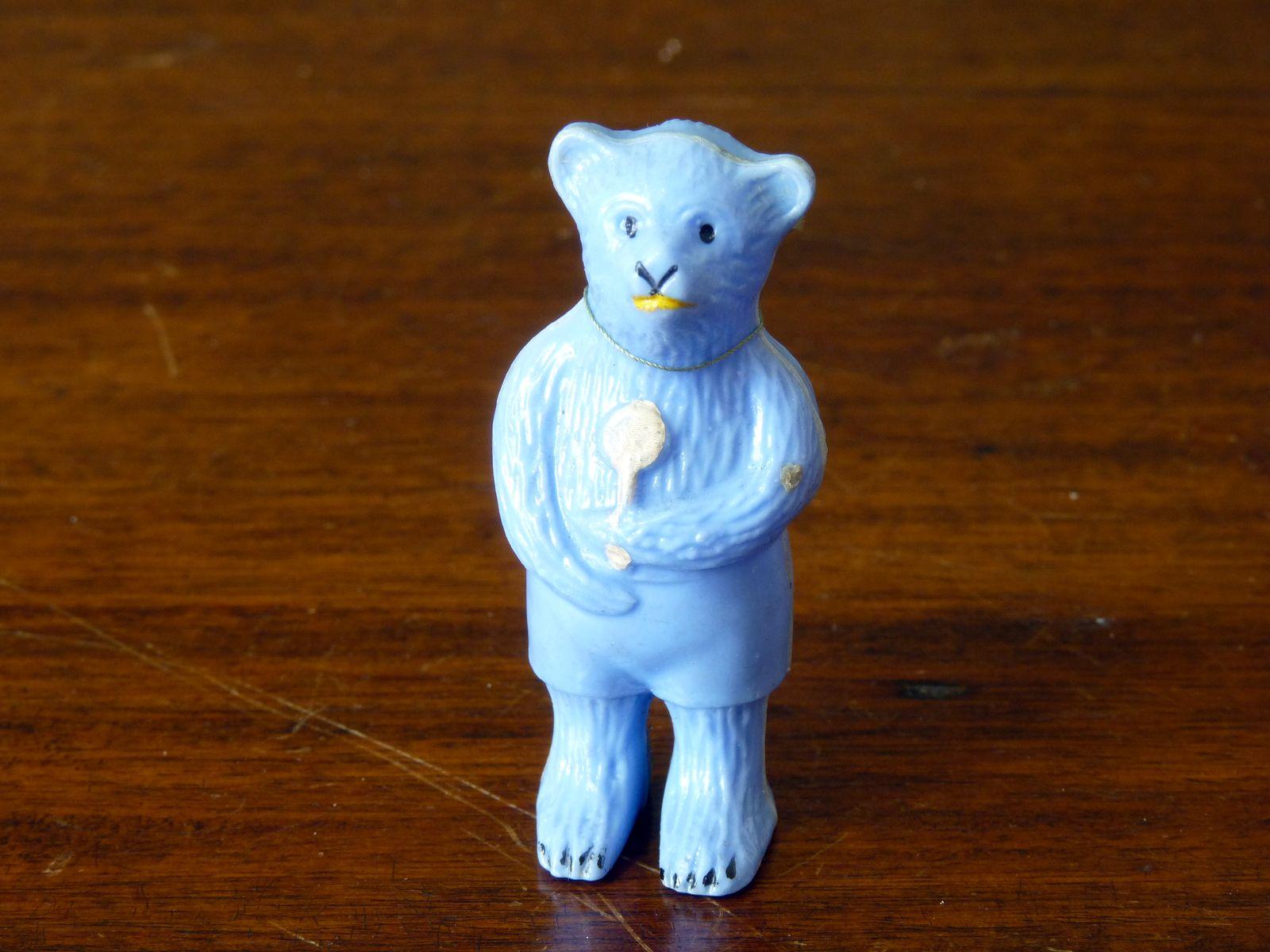 Vintage Kleeware Bear Figure Rattle