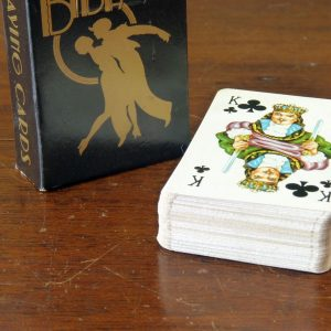 Vintage BIBA fashion house playing cards