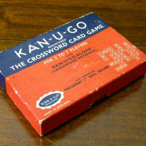 KAN-U-GO Crossword Card Game