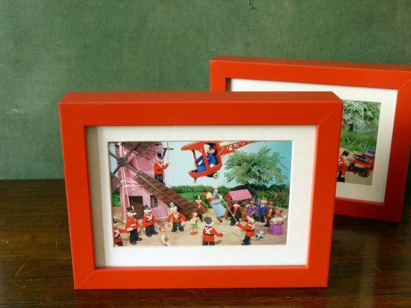 Framed Vintage Trumpton Postczrds