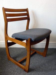 Vintage Teak Mid-Century Portwood Dining Chairs