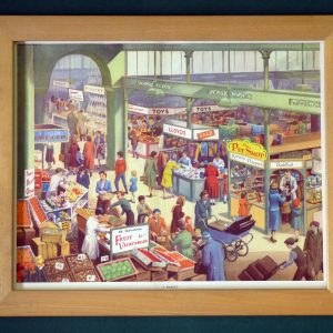 A Market - classroom poster from Today and Tomorrow by E. R. Boyce