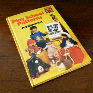 Play School Patterns book by Joy Gammon 1980