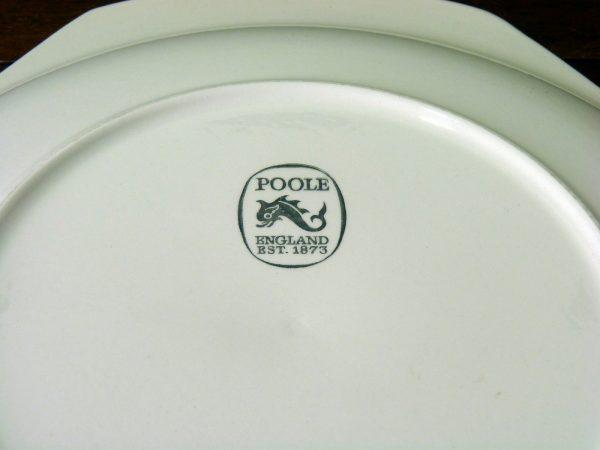 """Poole Pottery """"Blue Lace"""" design serving plate / platter"""
