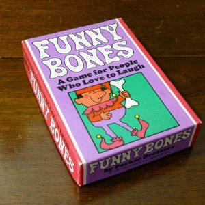 Vintage Parker Brothers Funny Bones Card Game