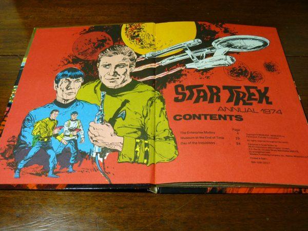 BBC TV Star Trek Annual 1974