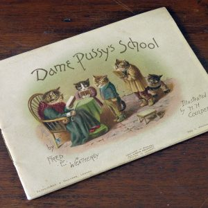 Dame Pussy's School by F. E. Weatherly (Illustrated by H. H. Couldery)