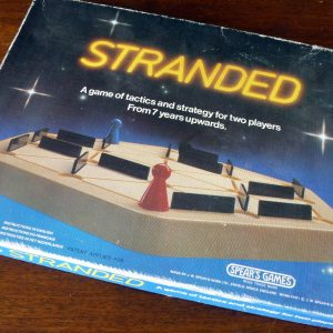 Spear's Games Stranded Board Game 1981Spear's Games Stranded Board Game 1981
