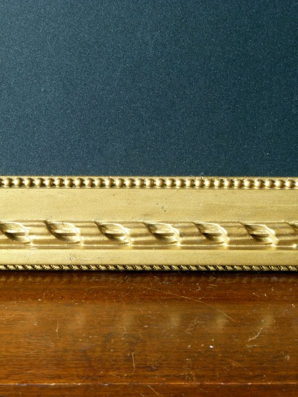 Large Antique Gilt Gesso Chunky Frame with Blackboard