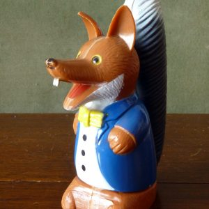 Basil Brush Plastic Egg Cup / Egg Holder 1970s 1980s