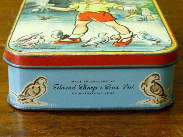 "Sharp's Toffee Tin ""Feeding The Birds"""